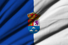Flag of Las Palmas Stock Photography