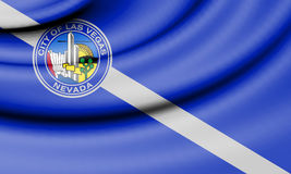 Flag of Las Vegas, USA. 3d Rendered Flag of Las Vegas, USA Royalty Free Stock Photo