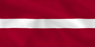 Flag of Latvia Royalty Free Stock Images