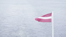 Flag of Latvia Royalty Free Stock Image