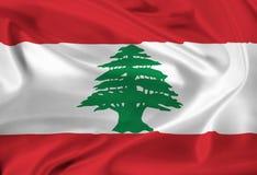 Flag of Lebanon Royalty Free Stock Photo