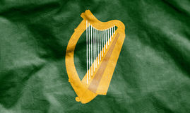 Flag of Leinster, Ireland. Royalty Free Stock Photography