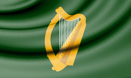 Flag of Leinster, Ireland. Stock Image