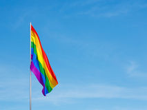 Flag of the LGBT community Royalty Free Stock Image