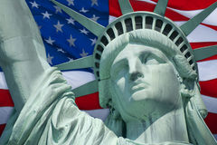 Flag of Liberty Stock Photography