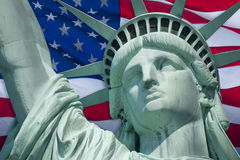 Flag of Liberty Stock Images