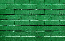 Flag of Libya on brick wall Royalty Free Stock Images