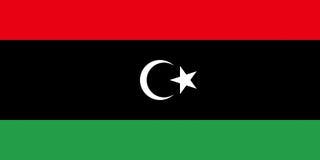 Flag of Libya Royalty Free Stock Image