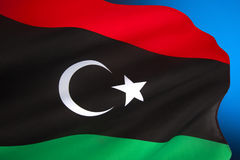 Flag of Libya - North Africa Royalty Free Stock Photos