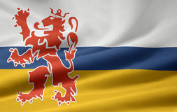 Flag of Limburg - Netherlands Royalty Free Stock Photo