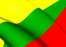 Flag of Lithuania Stock Images