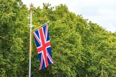 Flag in London Флаг в Лондоне Royalty Free Stock Photography