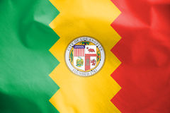 Flag of Los Angeles, USA. 3d Rendered Flag of Los Angeles, USA Stock Photo