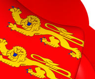 Flag of Lower Normandy, France. Royalty Free Stock Photography