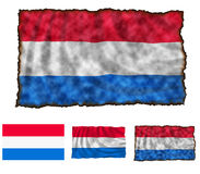 Flag of Luxembourg Stock Images
