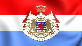 Flag of Luxembourg Royalty Free Stock Photography