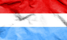 Flag of Luxembourg. 3d Rendered Flag of Luxembourg Stock Photography