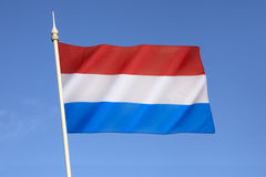 Flag of Luxembourg Stock Photography