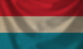 Flag of  Luxembourg. Royalty Free Stock Photos