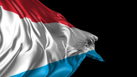 Flag of Luxemburg Stock Photography