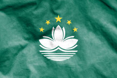 Flag of Macau. Stock Image