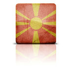 Flag Of Macedonia Stock Photography