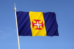 Flag of Madeira Royalty Free Stock Photo