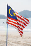 Flag of Malaysia Stock Photography