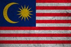 Flag Malaysia Royalty Free Stock Photo