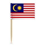 Flag of Malaysia toothpick Royalty Free Stock Photo