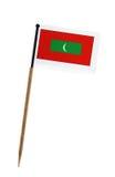 Flag of Maldive Islands Stock Photos