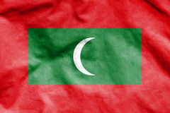 Flag of Maldives. Stock Photography