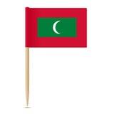 Flag of Maldives. Flag toothpick 10eps Royalty Free Stock Photo