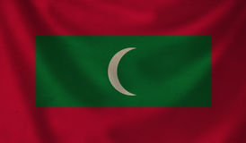 Flag of Maldives. Royalty Free Stock Images