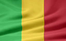 Flag of Mali Stock Photo