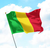 Flag of Mali Royalty Free Stock Photography