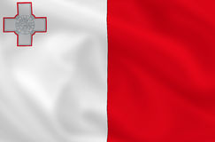 Flag of Malta royalty free stock photography