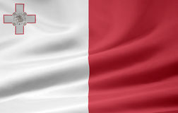 Flag of the Malta Stock Images