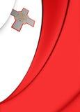 flag malta Стоковое Фото