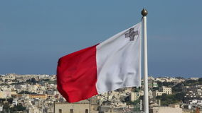 Flag of Malta stock video