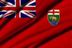 Flag of Manitoba Royalty Free Stock Photos