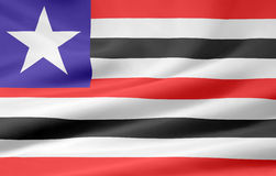 Flag of Maranhao Stock Image