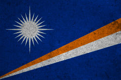 Flag Marshall Islands Royalty Free Stock Images