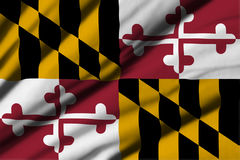 Flag of Maryland Stock Photography