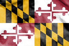 Flag of Maryland, USA. 3d Rendered Flag of Maryland, USA Royalty Free Stock Images