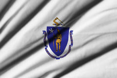 Flag of Massachusetts Royalty Free Stock Images