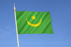 Flag of Mauritania Royalty Free Stock Images
