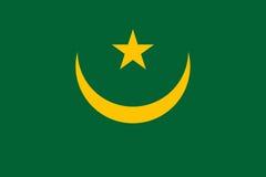 Flag of Mauritania Royalty Free Stock Photos