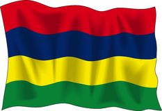 Flag of Mauritius Royalty Free Stock Image