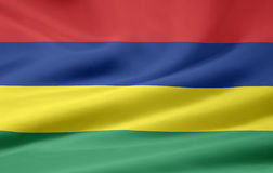 Flag of Mauritius. Very large version of a mauritian flag Royalty Free Stock Photos
